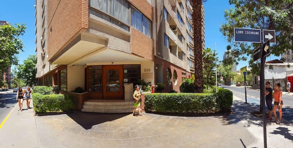Depto equipado en Centro de Santiago de Chile