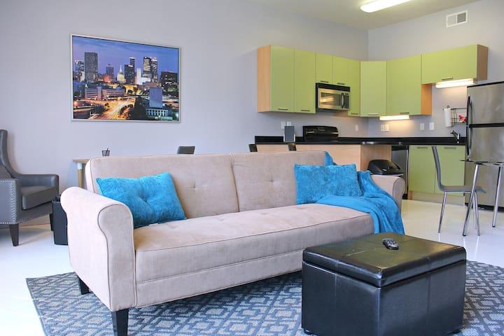 Modern 1BR Condo Downtown Atlanta - Atlanta - Condominio