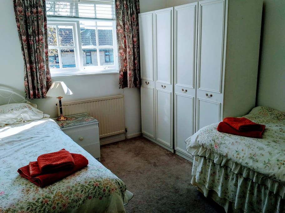 Twin Room with Wardrobes