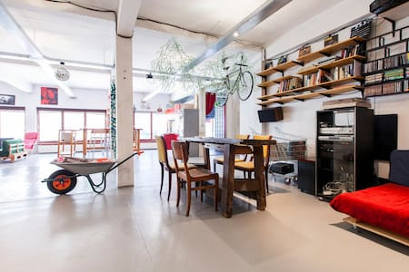 180 Square Meters Open Space Loft - Bruxelles - Loft