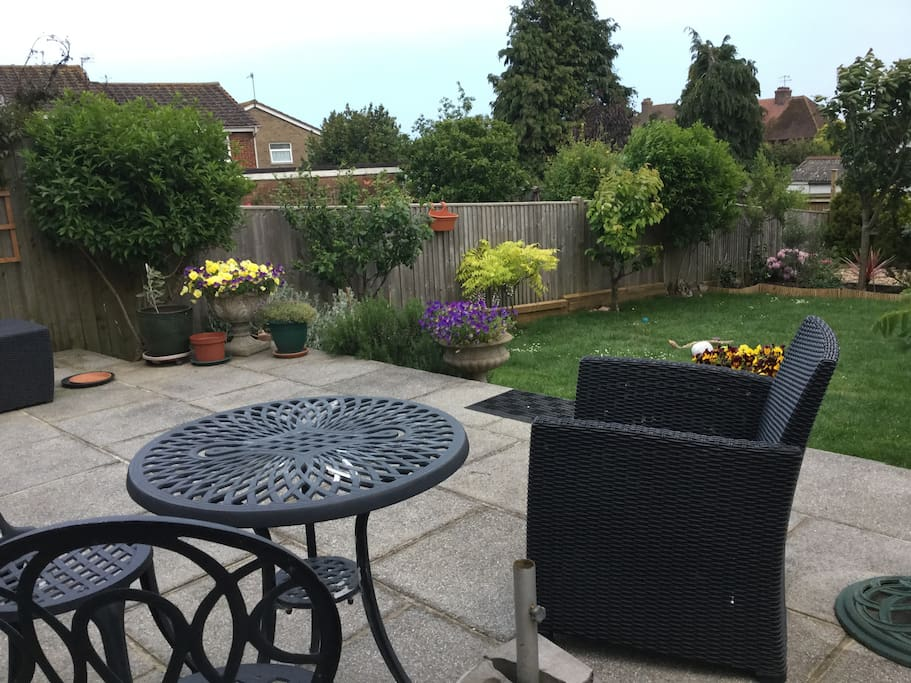 Sunny Terrace and garden