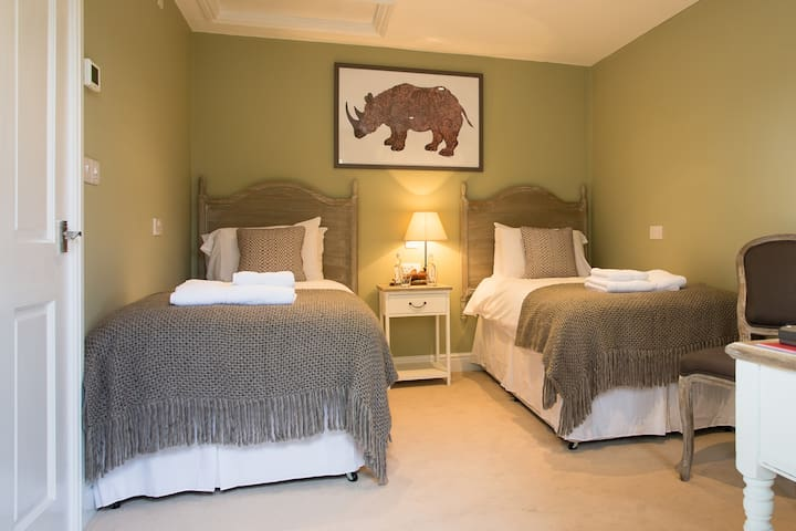 Twin Room at 17th Century Pub - West Sussex - Bed & Breakfast
