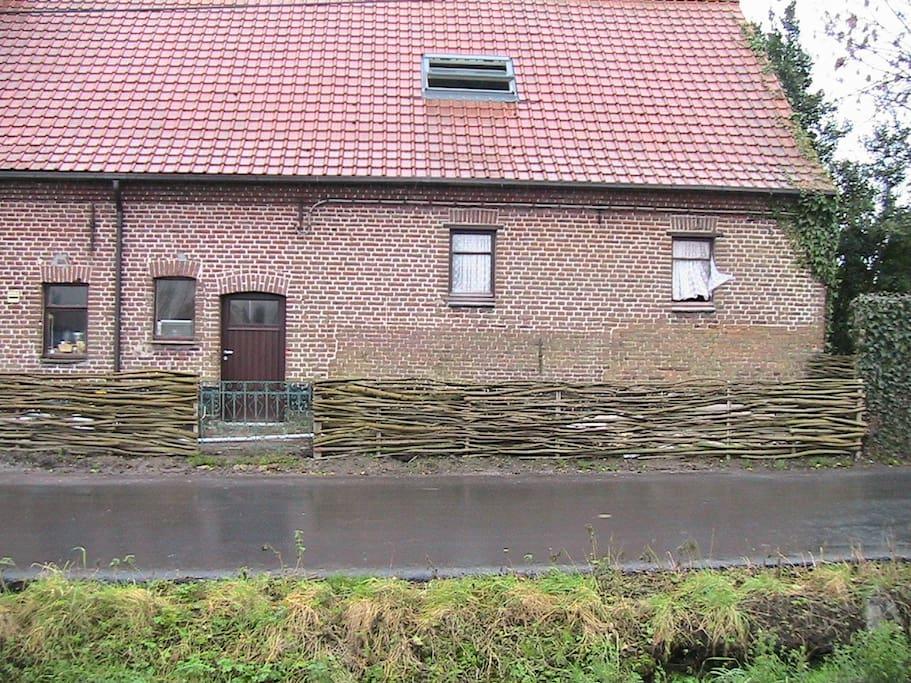 Boerderij te huur huizen te huur in izegem vlaanderen for Huizen te koop belgie