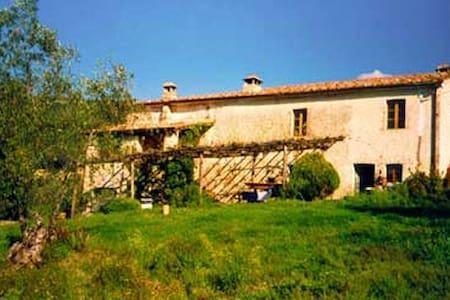 Idyll i. d. Alta Maremma01728366385 - Civitella Marittima - Rumah