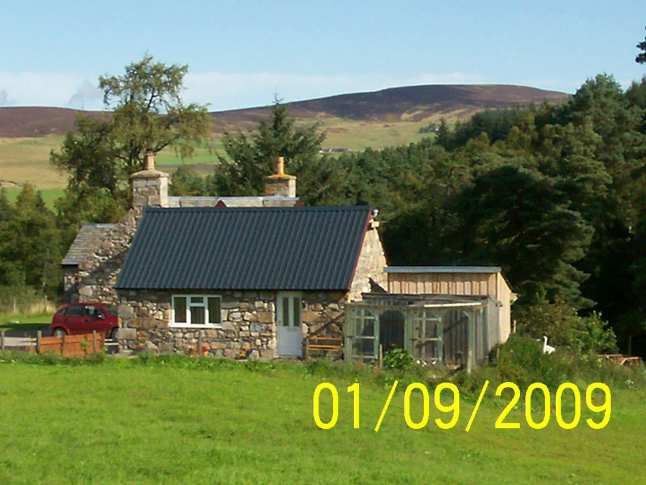 The front of the Bothy