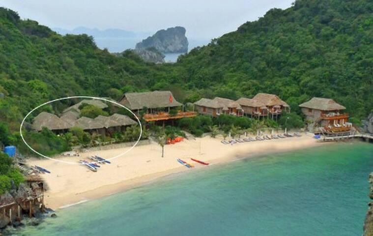 Sea View Bungalow On Monkey Island Resort - Ha Long - Villa