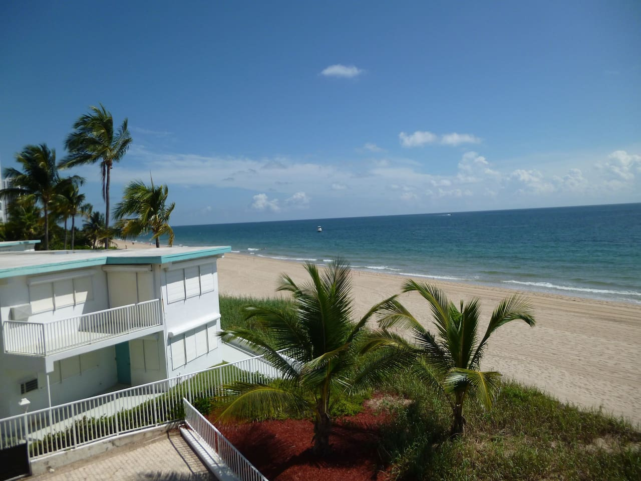 oceanview from the balcony