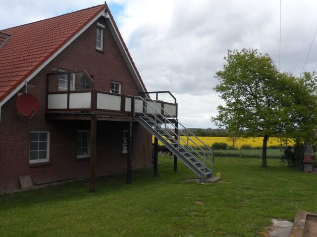Fe- Wo Hof Jägerberg, Ostseenähe, ländlich gelegen - Tröndel - Wohnung