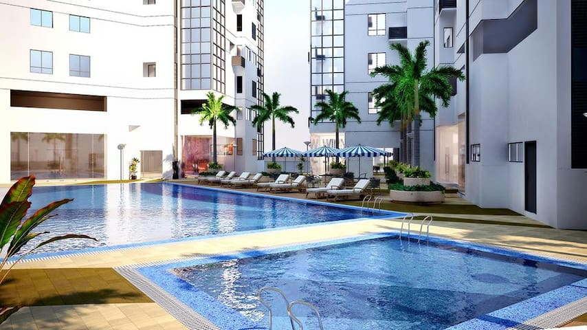 AmazingView Spacious w/ 2bedroom at BGC w/ WiFI - Taguig - Condominium