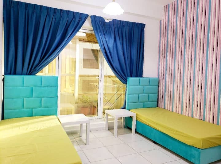 Furnished shared room for ladies in heart of Dubai