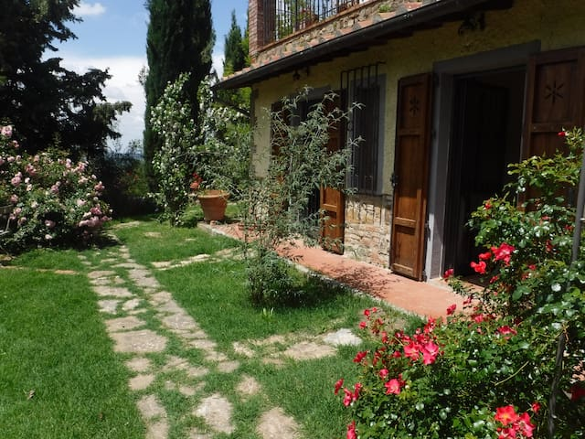 Rooms in the Chianti countryside - Barberino Val D'elsa - Apartment