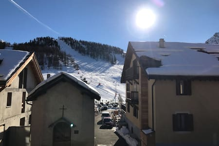 Appartement plein centre village et proche pistes. - Montgenèvre