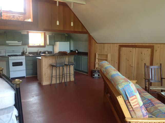 Private apartment over our 1800's barn - Belfast - Byt