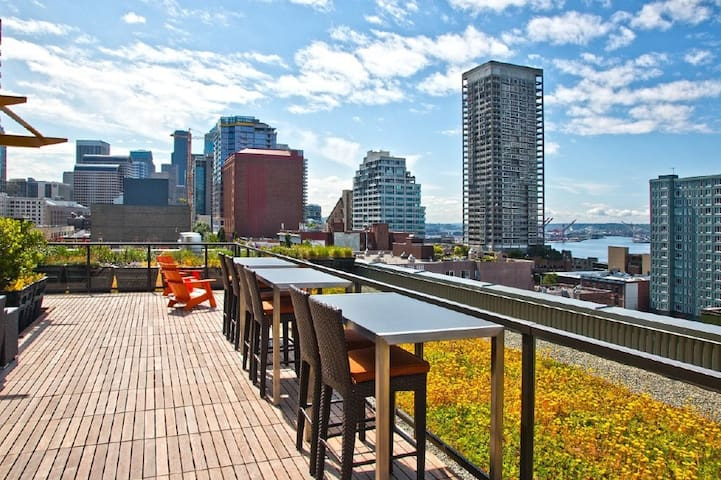 Downtown-5 mins walk to Pike Place! - Seattle - Apartment