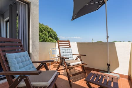 Sea view apartment close to the beach with balcony - Albufeira - Appartement