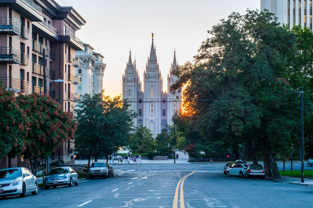 Downtown SLC Convention Area Condo Apartments For Rent In Salt Lake City U