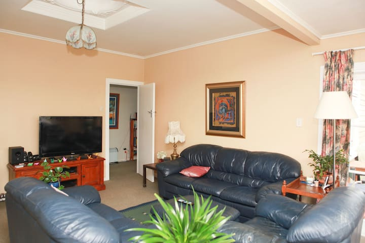 Quiet family home with easy access to city center.
