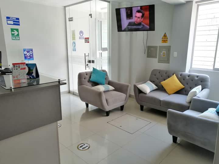 Hotel en el corazón de Tacna y a buen precio