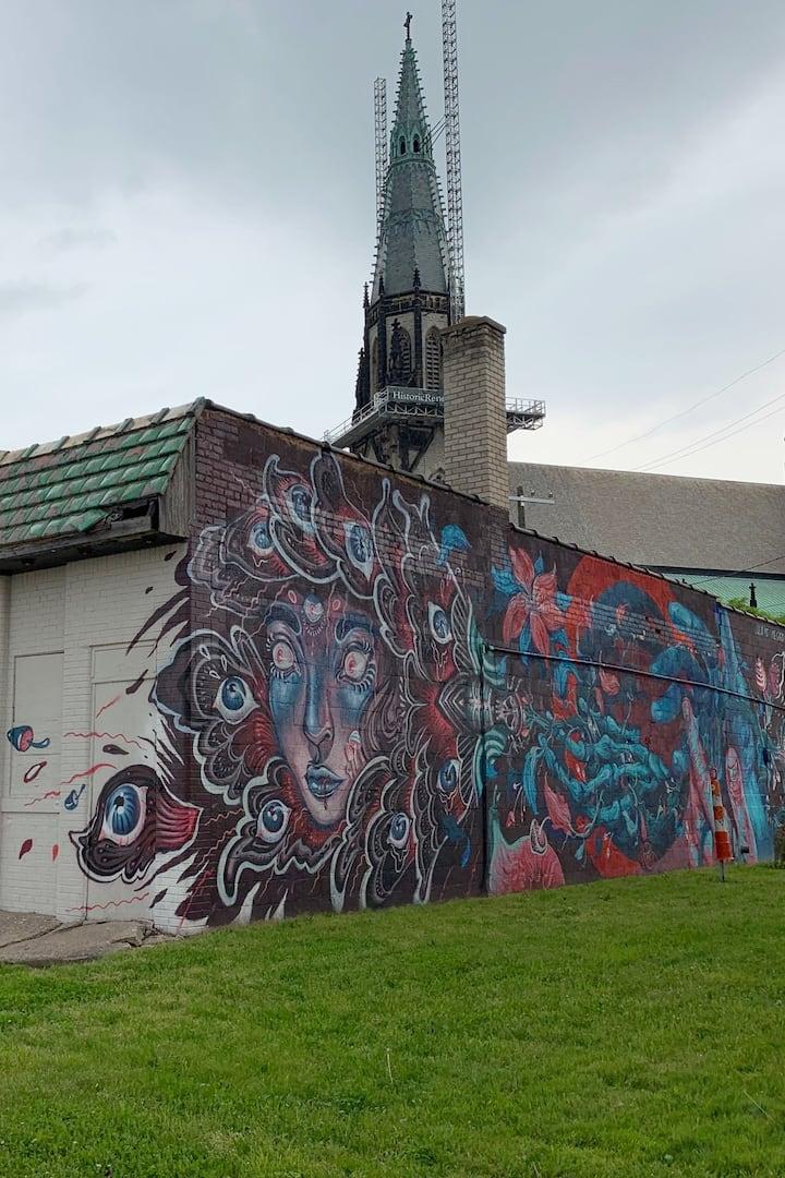 Church + ART= DOPE!