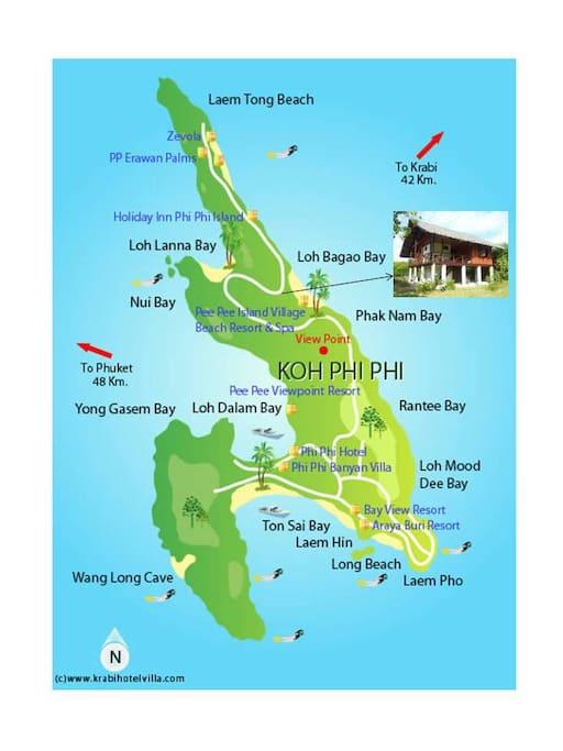 Koh Phi Phi Don - Phi Phi Island north