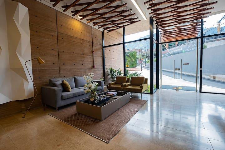 Fantastic Studio Loft In a luxury Condo in Bogotá