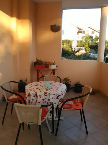 TIVAT , room in private house in residential area