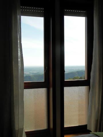 Panorama dalla camera da letto