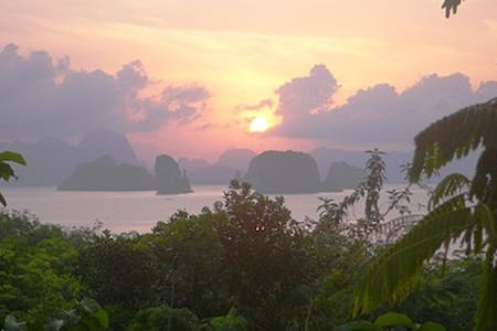 Tropical nature Villa with seaview - Ko Yao Noi - Talo