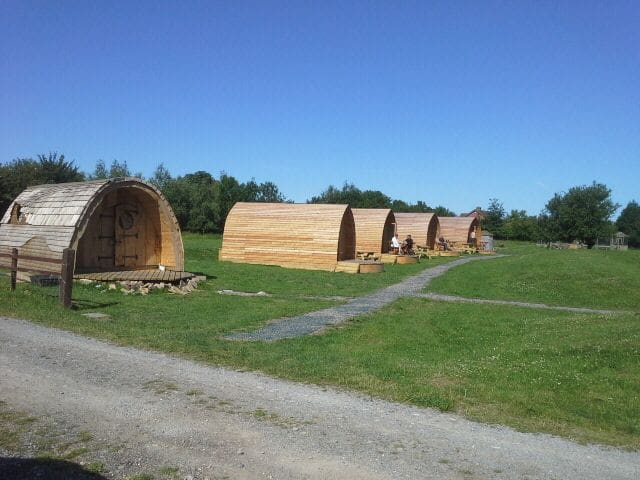 The Strawberry Glamping Pod