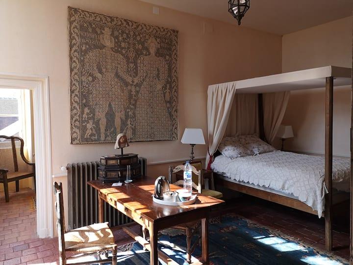 Château de Montchevreau : Chambre le nid de Dany