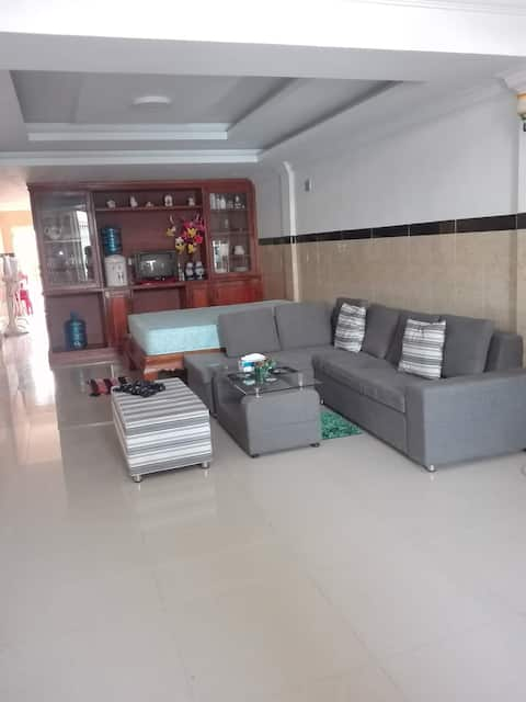Normal lodging in Cambodia 5km from the airport.