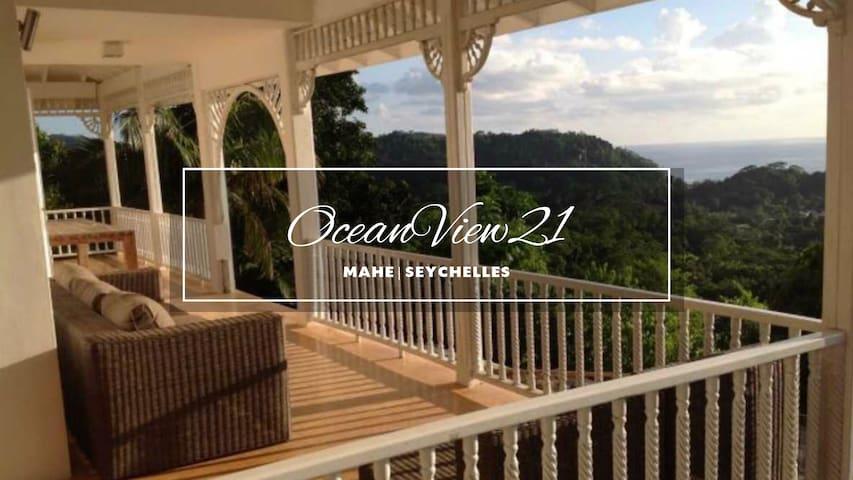 ★ OceanView Infinity Pool Villa ★ Mahé, Seychelles - SC - Dům