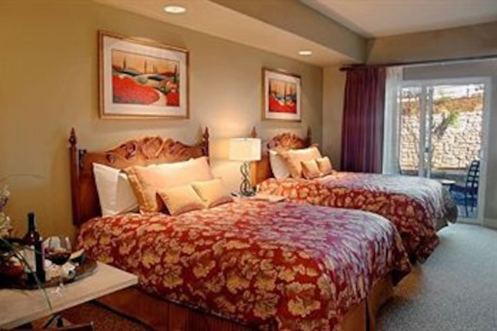 Two double bed studio suite