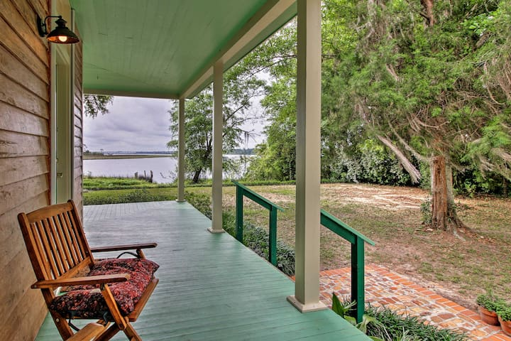 1859 Antebellum Farmhouse w/ Waterfront Views!