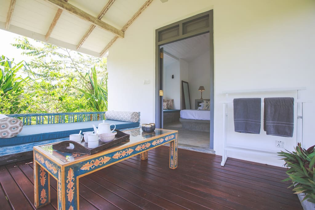 SISILA VILLA River suite (double bed) tariff for two guests on a bed–and-breakfast basis