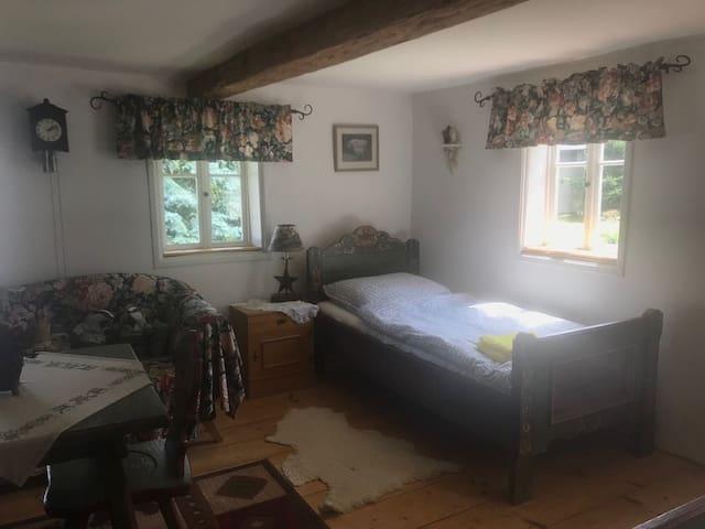 Einzelbett in diesem Zimmer