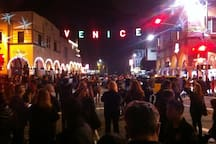 Venice Festival at night!