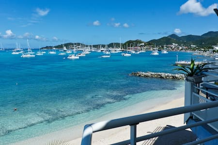 Superb Apartment Sea Panoramic View! - Baie de Marigot - Flat