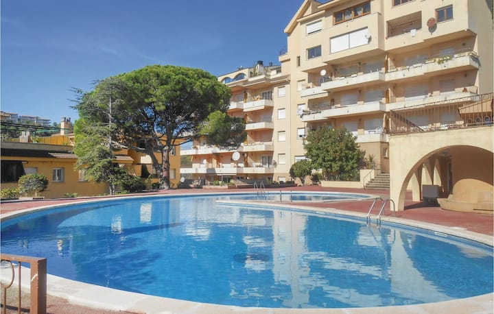Nice home in Tossa de Mar with 0 Bedrooms and Outdoor swimming pool