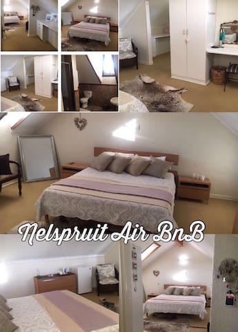 Nelspruit Airbnb. Room with ensuite - Nelspruit - Hus