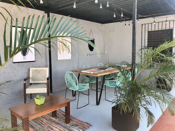 Loft Cocoteros : cómodo, acogedor y cerca de todo