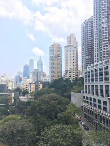 Lovely room in Sai Ying Pun with stunning view! - Hong Kong - Condominium