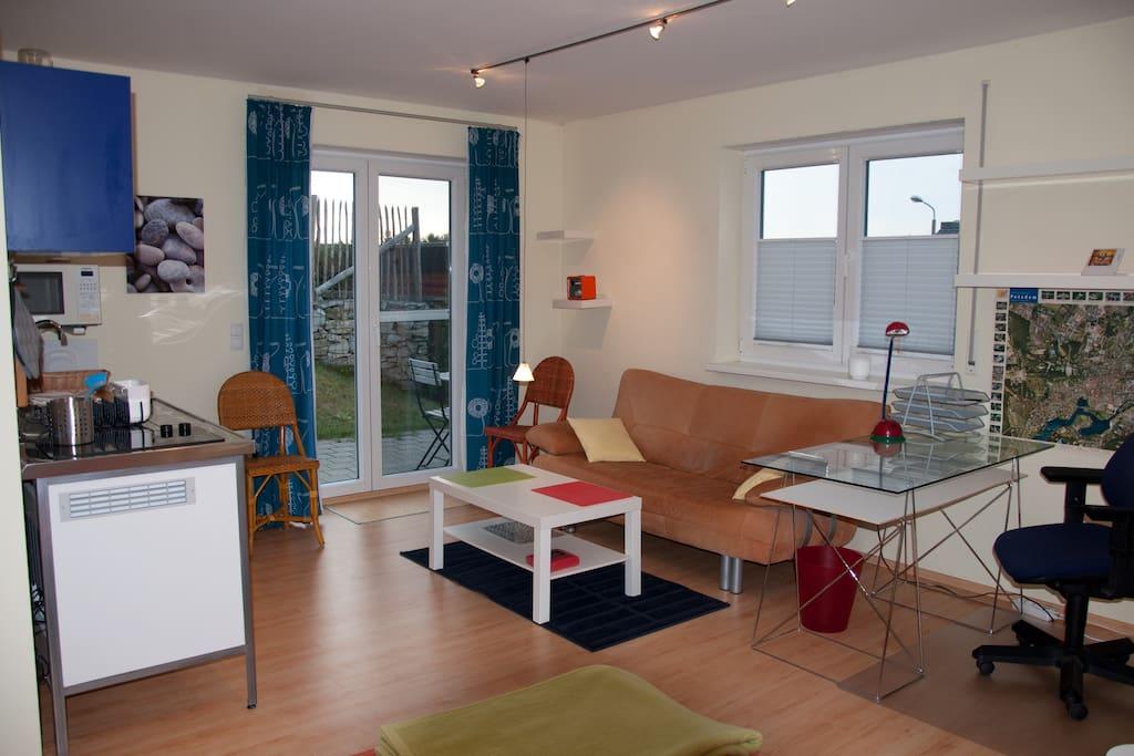 Helles Appartement-modern-mit eigener Terrasse