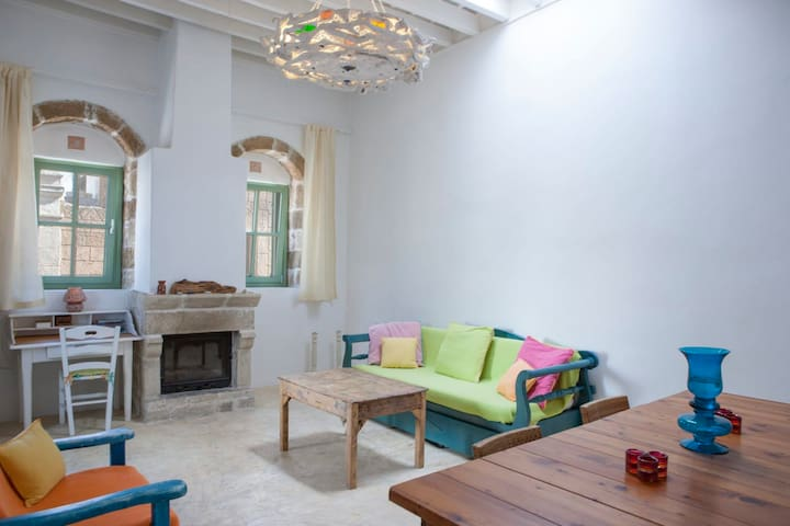 Charming Villa with Romantic Courtyard and Fantastic Terraces