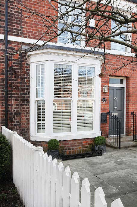 English shutters and sliding sash windows