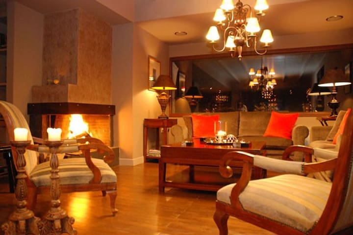 Elegant room in chestnut Forest! - Agios Nikolaos - Chalet