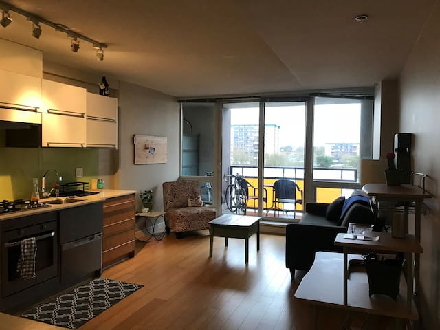 Condo in  Chinatown Van- secure parking included