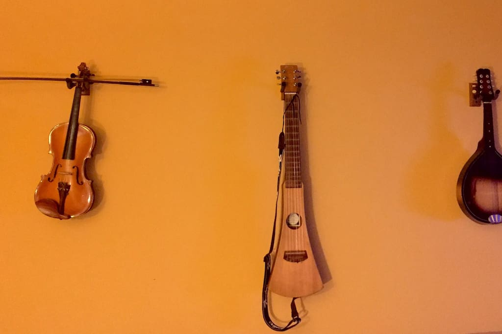 Help yourself to my string instruments, be gentle :-)