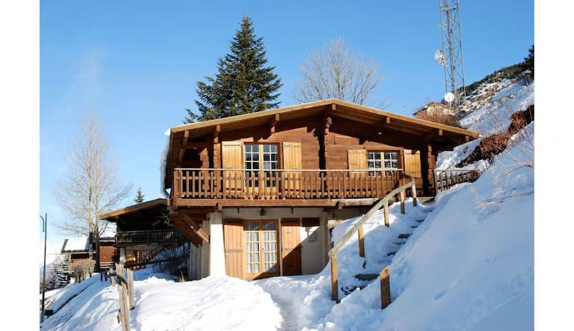 Chalet familial Vars Sainte Catherine 12 couchages - Vars - House