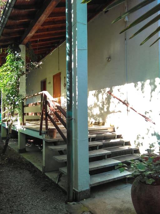 Terrazzino d'ingresso